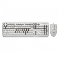 Клавиатура и мышь REAL-EL Standart 505 (White)